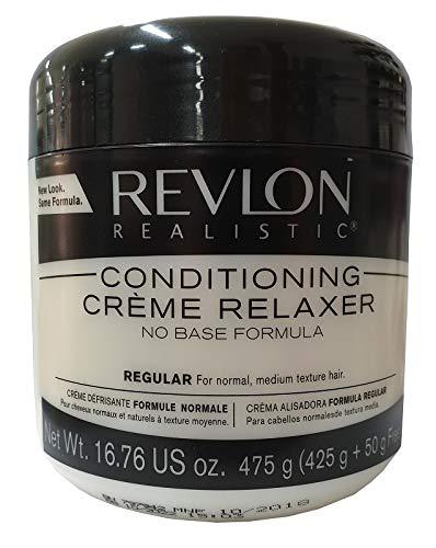 Base Creme Hair Relaxer (Relaxer / Glättungscreme REVLON Conditioning Creme Relaxer REGULAR - NORMAL 425g)