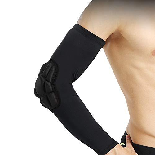 1 Paar Sportellenbogenmanschette, Fitness Ellenbogenbandage Kompressionsmanschette, Kompressionsunterstützung für die Regeneration, passend für Workouts, Gewichtheben,Sehnenentzündung, Tennis XL -