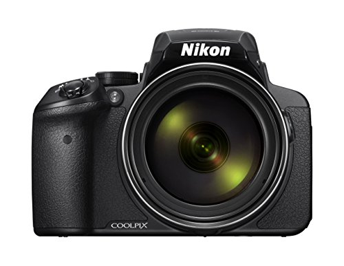 Nikon Coolpix P900 Digitalkamera (16 Megapixel, 83-fach optischer Megazoom, 7,5 cm (3 Zoll) RGBW-Display mit 921.000 Pixel, Full-HD-Video, Wi-Fi, GPS, NFC,...