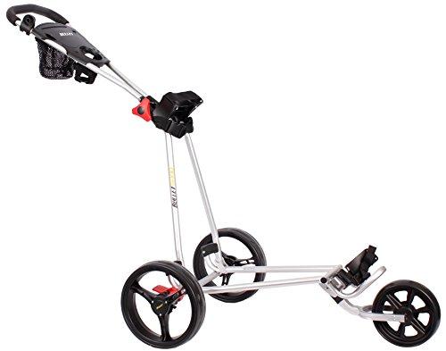 Bullet 5000 Chariot de golf professionnel pliable disponible en blanc, noir et argenté, argenté