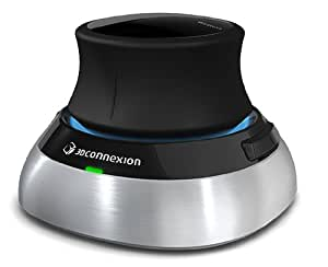 3D Connexion SpaceMouse Wireless Maus schwarz/silber