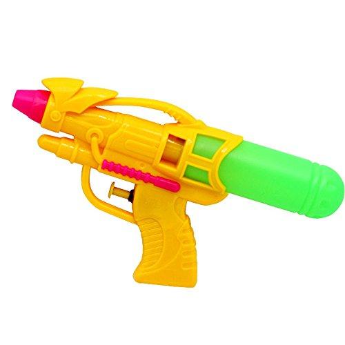 Preisvergleich Produktbild Colorfulworld Wasserpistole groß Pumpmechanismus und Drucksprüher Spielzeugblaster (yellow2)