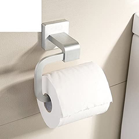 cajas de pañuelos de aluminio espacio engrosada/caja de papel higiénico/toallero/Cuarto de baño titular de papel higiénico/bandeja de la