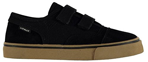 child-boys-textured-tempo-canvas-shoes-loop-tape-trainers-c13-32-black