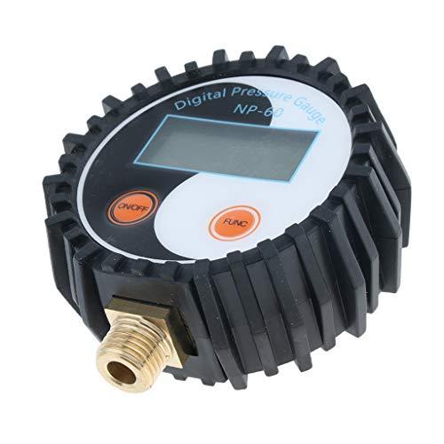 NP-60 G1/4 Tragbarer Digital Reifendruckprüfer Manometer Reifendruckmesser Tester Meter - 0-200PSI