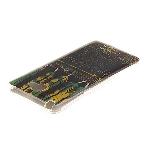 LG Bello II hülle MCHSHOP Ultra Slim Skin Gel TPU hülle weiche weiche Silicone Silikon Schutzhülle Case für LG Bello II - 1 Kostenlose Stylus (Vans von der wand (Vans off the wall)) Tribal Aztec Gefieder Live A positiv Leben (Tribal Aztec Feathers Live A