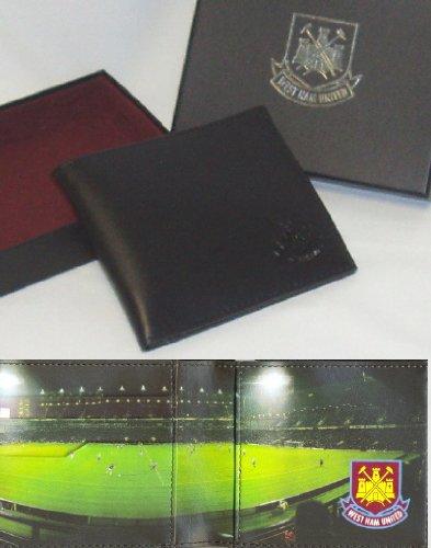 West Ham United F.C. Portefeuille Cuir panoramique 801