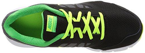 Nike Downshifter 6 (Gs/Ps) Scarpe Sportive, Ragazzo Grigio/Nero/Bianco