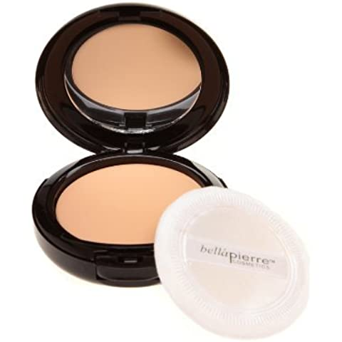 Bella Pierre Compact Mineral Foundation in Cinnamon, 0.35-Ounce by Bella (Compact Mineral Foundation)