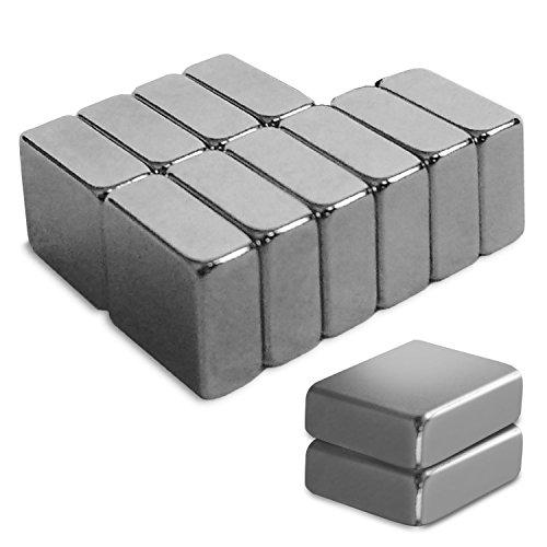 Master of Boards Neodym Magnete - für Glas-Magnetboards / Magnettafeln, 12 Stück