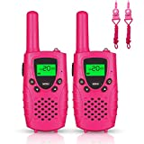 Walkie Talkie Kids, 2pcs Walkie Talkies Boys Girls Children Walky Talky 446MHz 0.5W