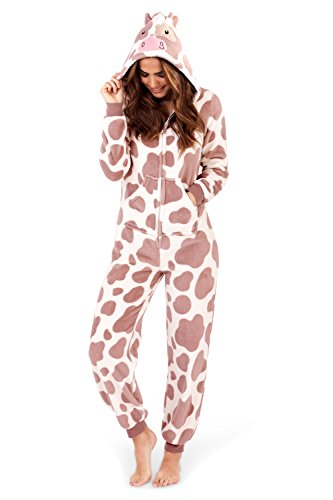 Loungeable, Ladies Luxury 3D Animal All In One Jumpsuit Onesie Test