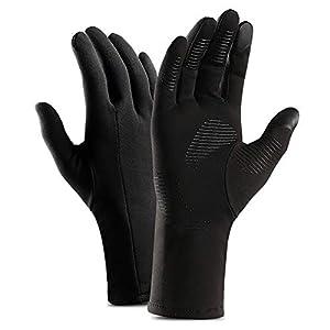 osmanthusFrag 1 Paar Winter Warme Touchscreen Vollfingerhandschuhe Winddicht für Frauen Männer