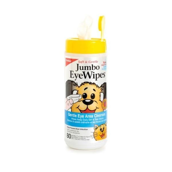 Petkin Jumbo Eye Wipes for Cats & Dogs 1