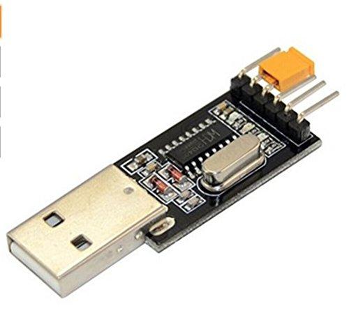 Demarkt CH340 Chip Modul Rüsten Sie kleine Platte USB-Seriell Pinsel Bord Modul STC-Mikrocontroller-Download-Kabel USB zu TTL-Chips Modul