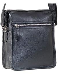 """""""Rimbaldi"""" sac de luxe de classe de doux, cuir Nappa de haute qualité en noir"""