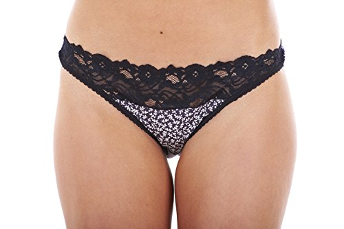 418XIgYEKSL - BEST BUY #1 Ex Store Multipack Cotton Full Briefs Knickers 5 Pack White Lace 14 Reviews and price compare uk