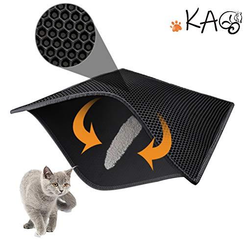 KGA Tapis de litière pour Chat de qualité supérieure...