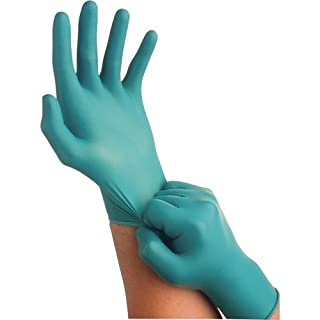 Ansell-Edmont 92-600-L Touch N Tuff Nitrile Gloves, Power Free, Large, 100/Box by Ansell