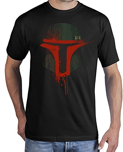 rt Boba Bloody Mask ADSW10007 (3XL, schwarz) (Boba Fett Star Wars)