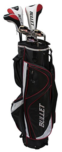 Trendkontor Bullet Herren Graphit Golfset RD 48 mit 10 Schläger und Cartbag