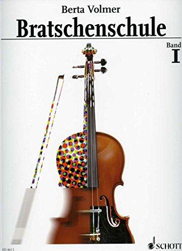 BRATSCHENSCHULE 1 - arrangiert für Viola [Noten / Sheetmusic] Komponist: VOLMER BERTA