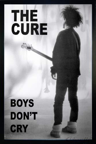 The Cure Poster (66x96,5 cm) gerahmt in: Rahmen schwarz