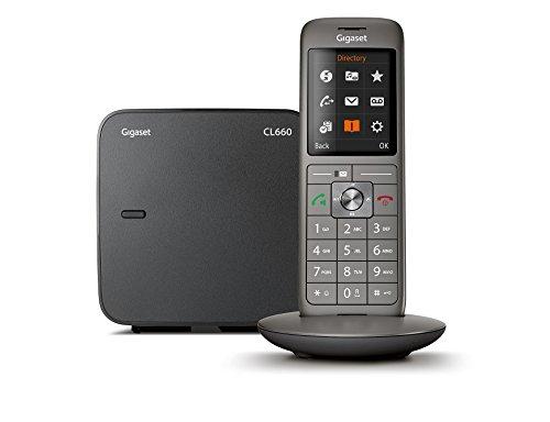 Gigaset CL660 Solo - Téléphone fixe sans fil - Gris Anthracite