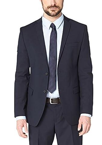 s.Oliver BLACK LABEL Herren Anzugjacke 02.899.54.2318, Einfarbig, Gr. 102, Blau (BLUE 5920) (S Oliver Anzug Premium)
