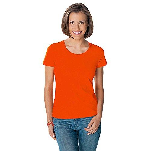 Hanes - T-shirt en coton Tasty - col rond/manches courtes - femme Orange