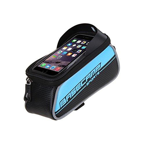 Rmine Wasserdicht Fahrradtasche Handy Rahmentasche für Smartphone bis zu 6,0 Zoll
