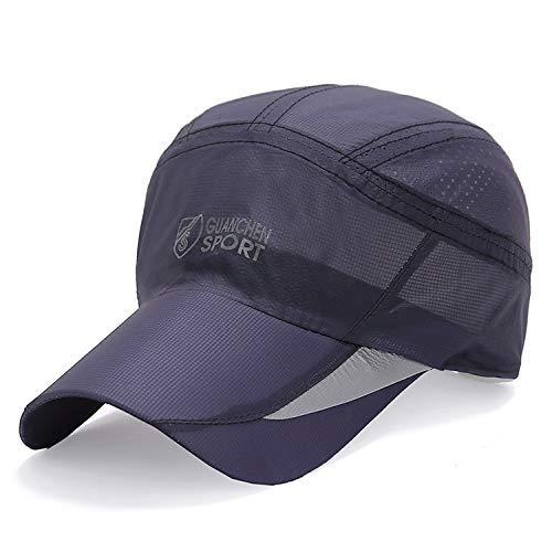 zhuzhuwen Frühling und Sommer schnell trocknende Hut Baseballmütze Outdoor UV-Visier Mode lässig Kappe 4 56-62cm