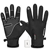 Best Winter Gloves For Men - Yobenki Cycling Gloves, Touch Screen Gloves Waterproof Windproof Review