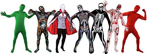 ILOVEFANCYDRESS - Tute intere aderenti per costume di carnevale/ halloween, adulti, taglie S-XL
