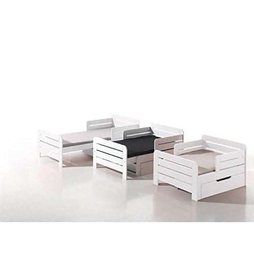 kinderbett ausziehbar gebraucht kaufen nur 4 st bis 65. Black Bedroom Furniture Sets. Home Design Ideas