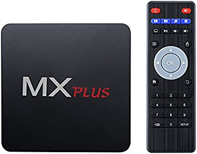 Android 5.1 TV Box de VicTsing, Quad-Core, 1G DDR3 y 8G Flash, 4Kx2K @60 fps, Bluetooth y HDMI, con WiFi & Miracast/DLNA & Gigabit Network & OTA, Pre-Download KODI/YouTube/Netflix/Skype