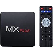 Android 5.1 TV Box de VicTsing, Quad-Core, 1G DDR3 y 8G Flash, 4Kx2K @60 fps, Bluetooth y HDMI, con WiFi & Miracast/DLNA & Gigabit Network & OTA, Pre-Download KODI/YouTube/Netflix/Skype