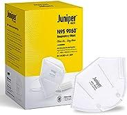 Juniper N95 Face Mask 9050 Respirator – White – Antiviral & Antibacterial – Filtration efficiency > 95%