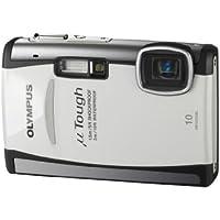 """Olympus  TOUGH-6000 Appareil photo compact numérique 10 Mpix Zoom Optique 3,6x Ecran LCD 2,7"""" Etanche et anti-choc  Blanc"""