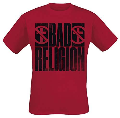 Bad Religion Bold T-Shirt rot XXL