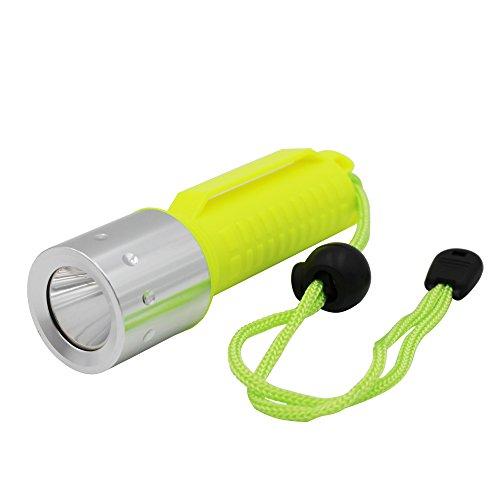 KC Fire Tauchen Taschenlampe, Tauchen Licht, 900lm U-Boot Light 80ft Wasserdicht Scuba Sicherheit Lichter, Tauchen Backup Licht -