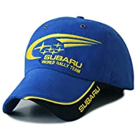 Utopiashi Motocross GP Letters Racing Baseball Caps Subaru Hats for Mens Snapback Cat