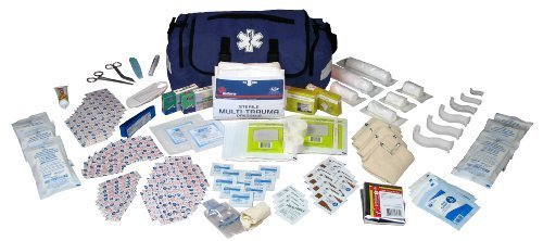 dixie-ems-fully-stocked-147-piece-first-responder-on-call-kit-blue-by-dixie-ems