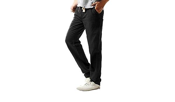 L, Blu1 Pantaloni Tuta Uomo,Pantalone Tuta da Ginnastica Cotone Fruit of The Loom Pantaloni Leggeri Uomo con Fondo Largo Non Felpati Uomo Pantaloni di Base in Maglia