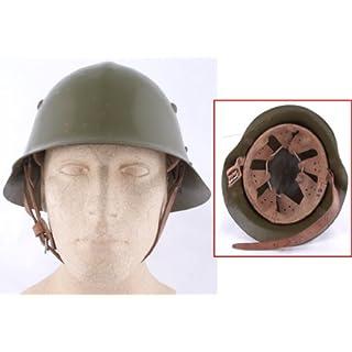 Bulgarischer Helm WKII oliv gebraucht
