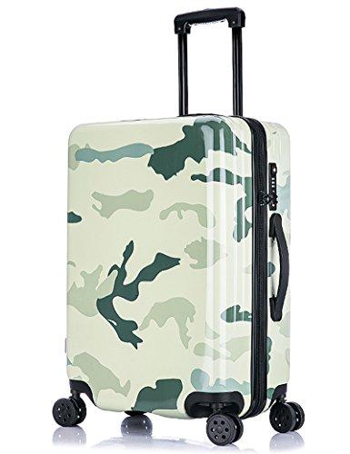 ABS + PC Aluminiumlegierung Stange Gepäck Tasche 360 