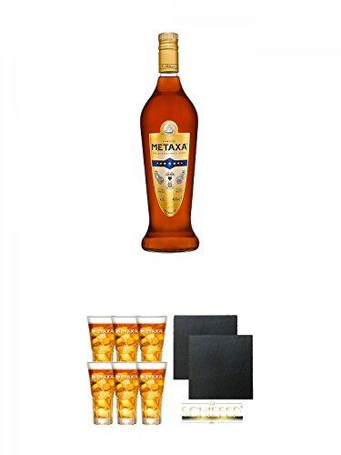 metaxa-7-sterne-weinbrand-brandy-10-liter-metaxa-spyro-6-x-glaser-mit-eichstrich-2cl-und-4cl-schiefe