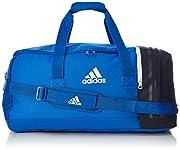Con questa borsa da calcio, avrete un look accattivante e lo spazio per riporre tutto ciò che serve per la vostra partita.  Questa borsa è dotata di tracolla imbottita e regolabile per un semplice trasporto. Un grande vano interno con doppia ...