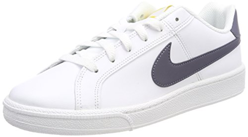 Nike Court Royale, Scarpe da Ginnastica Uomo, Bianco (White/Light Carbon/Vivid Sulfur 105), 42.5 EU