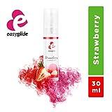 EasyGlide Lubrificante alla Fragola (30 ml) Lubrificante Stimolante con Intenso Aroma di Fragola; Ideale per il Sesso Orale